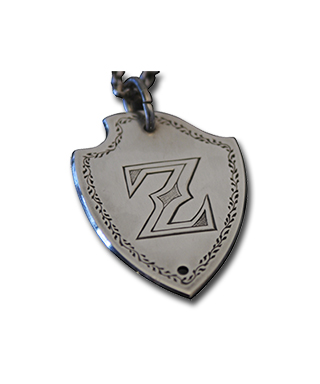 Shield Shape Pendant